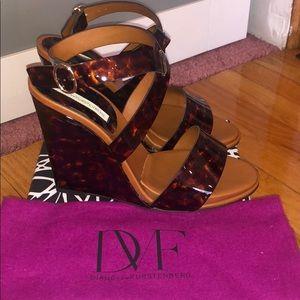 Diane von Furstenberg wedged